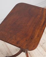 Regency Mahogany Lamp Table (3 of 6)