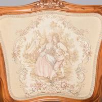 Pair of Louis XV Style Open Armchairs Fauteuils (7 of 10)