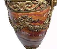Pair of French Marble Urns Amphora Cassoulets Empire 1890 (15 of 16)