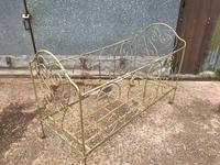 Large Victorian Cast Iron Cot (3 of 5)