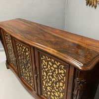 Gillows Serpentine Rosewood Sideboard (9 of 10)