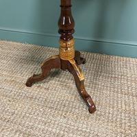 Stunning Victorian Walnut Antique Sorrento Table (3 of 8)
