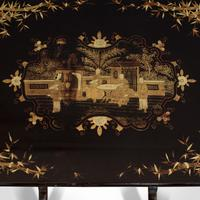 Antique Nest Of Occasional Tables, Oriental, Trio, Japanned, Victorian c.1880 (7 of 12)