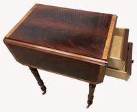 Pair of Superb Flame Mahogany Victorian Bedside Tables (4 of 8)