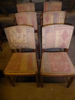 Set of Six Heal's Oak Chairs (8 of 9)