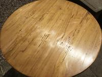 19c Pine Cricket or Tavern Table (2 of 4)