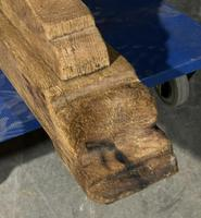 Large Rustic Bleached Oak Farmhouse Refectory Dining Table (24 of 25)