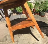 19c Pine Cricket or Tavern Table (4 of 4)