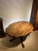 Victorian Rosewood Centre Table / Loo Table (5 of 11)