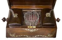 Beautiful Early 19th Century Mother of Pearl Tea Caddy (2 of 8)
