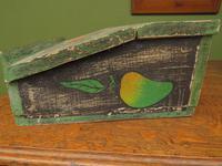 Shabby Chic Folk Art Painted Writing Slope Box with Fruit, Recipe Storage (12 of 14)