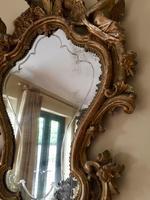 Fine English 18th Century Antique Gilt Mirror Pier Glass (9 of 10)