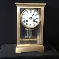 Clock 4 Glass Mantle Victorian (8 of 8)