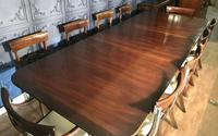 Mahogany Dining Table & Set of 10 Regency Style Chairs (6 of 19)