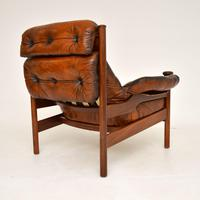 1960's Vintage Guy Rogers Leather Armchair (9 of 9)