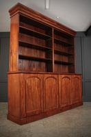 Large Mahogany Open Library Bookcase (4 of 11)