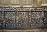 Georgian Oak Hall Bench (4 of 8)