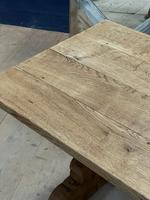 Smaller French Farmhouse Bleached Oak Dining Table (9 of 17)