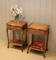 Pair of French Cherrywood Tables (8 of 11)