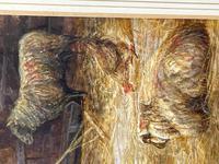 "Watercolour ""Tending The Sheep"" By Bertha Rhodes RA Rca Exh 1905 -1912 (37 of 41)"