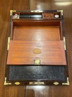 Good Quality Rosewood Writing Slope / Box by the Famous Maker William Eyre (6 of 12)