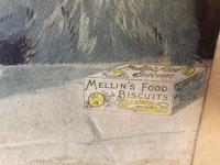 "Victorian Louis Wain Print ""The Wedding Breakfast"" Advertising Mellin's Food Biscuits (8 of 14)"