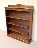 Oak Open Bookcase c.1910 (8 of 10)