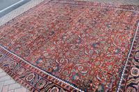 Antique Heriz square carpet 383x311cm (3 of 9)