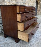 Antique Mahogany Chest of Drawers on Bracket Feet (6 of 12)