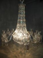 19th Century Crystal Tent & Waterfall Chandelier (6 of 18)