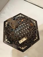 Good Early 20th Century Concertina Squeeze Box (10 of 11)
