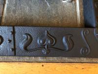 Art Nouveau Fire Fender Kerb - Cast Iron Fire Fender (8 of 10)