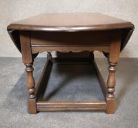 Oak Drop Leaf Occasional - Coffee Table Wood Bros, Old Charm Furniture (9 of 11)