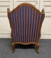 Comfortable French Wing Armchair (6 of 15)