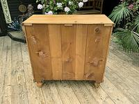 Fabulous & Large Old Pine Chest of Drawers (8 of 8)
