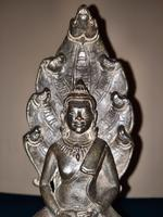 18th / 19th Cambodian Bronze Mucalinda Buddha (3 of 13)