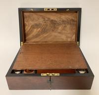 Antique Victorian Mahogany Writing Slope (8 of 12)