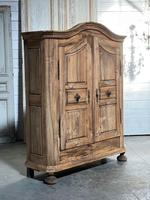 18th Century French Fruitwood Armoire (18 of 19)