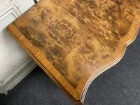 Burr Walnut Dressing Table or Desk by Gillows (9 of 16)