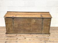 19th Century Antique Oak Dome Top Trunk (13 of 13)
