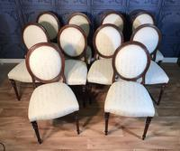 Set of Ten Mahogany Dining Chairs (8 of 10)