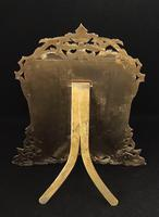 Gothic Revival Brass Two Door Easel Photo Frame (5 of 6)