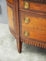 Dutch Marble Top Burr Elm Commode / Chest (4 of 13)