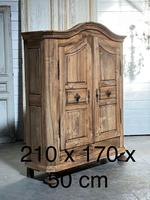 18th Century French Fruitwood Armoire (19 of 19)