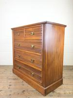 Antique Edwardian Satinwood Chest of Drawers (9 of 10)