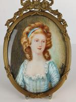 Ivory Miniature of a Lady (5 of 7)