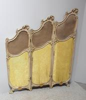 French Painted Three Fold Screen (5 of 14)