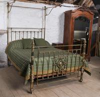 Spectacular Victorian All Brass Half Tester (3 of 16)