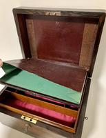 Antique Rosewood Jewellery Box (8 of 13)