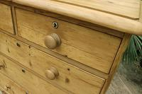 Gorgeous Old Pine Chest of Drawers (5 of 8)